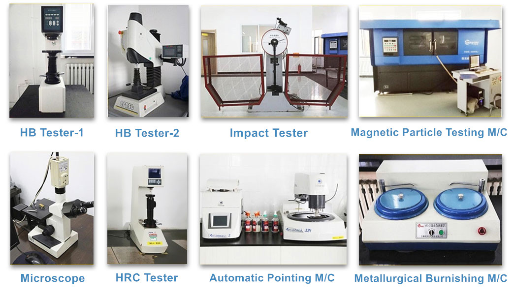 Spare Parts Inspection Equipments