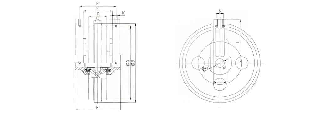 Idler Wheel CAD Drawings