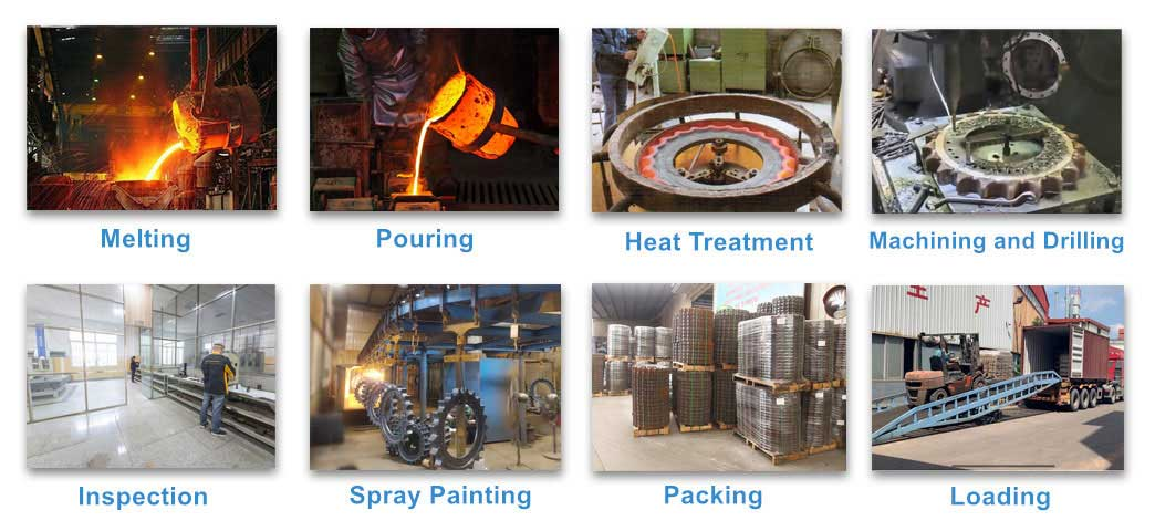 Sprocket production processes